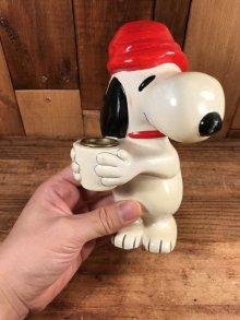 他の写真3: Hallmark Peanuts Snoopy Candle Holder スヌーピー ビンテージ キャンドルホルダー 70年代