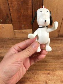 他の写真1: Peanuts Snoopy Plastic Figure Ornament スヌーピー ビンテージ プラスチックフィギュア オーナメント 70年代