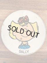 "Peanuts Snoopy ""Sally"" Tin Dish Plate サリー ビンテージ ディッシュプレート スヌーピー 小皿 70年代"