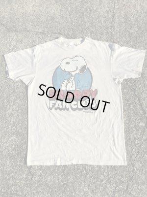 80'sのスヌーピーファンクラブのヴィンテージのTシャツ