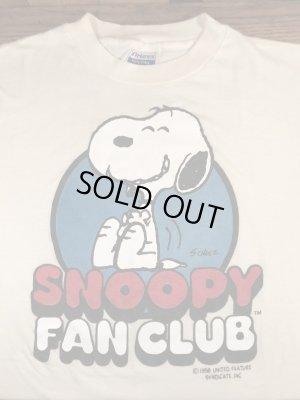 80年代頃のスヌーピーファンクラブのビンテージのTシャツ