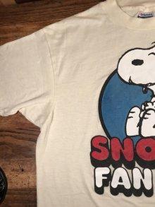 他の写真1: Peanuts Snoopy Fan Club T-Shirt スヌーピーファンクラブ ビンテージ Tシャツ USA 80年代