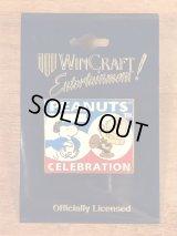 """Win Craft Peanuts Snoopy """"50th Celebration"""" Pins スヌーピー ビンテージ ピンバッジ チャーリーブラウン 90年代"""