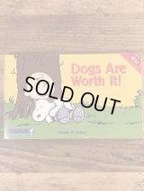 "Peanuts Snoopy ""Dogs Are Worth It!"" Comic Book スヌーピー ビンテージ コミックブック 90年代"