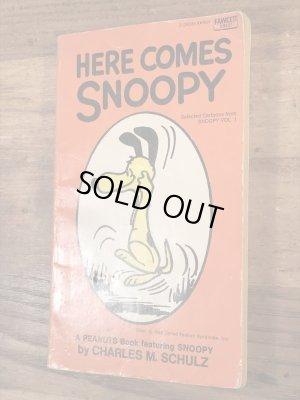 60〜70'sのスヌーピーとピーナッツギャングのヴィンテージのコミックブック