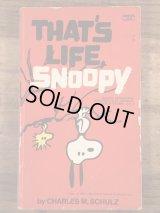 "Peanuts Snoopy ""That's Life, Snoopy"" Comic Book スヌーピー ビンテージ コミックブック 70年代"