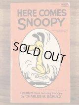 "Peanuts Snoopy ""Here Comes Snoopy"" Comic Book スヌーピー ビンテージ コミックブック 60〜70年代"