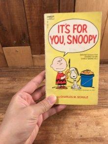 """他の写真3: Peanuts Snoopy """"It's For You, Snoopy"""" Comic Book スヌーピー ビンテージ コミックブック 70年代"""