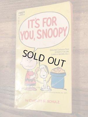 70'sのスヌーピーとピーナッツギャングのヴィンテージのコミックブック