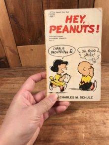 """他の写真3: Peanuts Snoopy """"Hey Peanuts!"""" Comic Book スヌーピー ビンテージ コミックブック 70年代"""