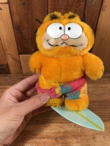 """他の写真3: Dakin Garfield """"Surfing"""" Plush Doll ガーフィールド ビンテージ プラッシュドール サーフィン 80年代"""