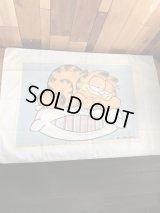 "Garfield ""Pillow"" Pillow Case ガーフィールド ビンテージ ピローケース 枕カバー 80年代"