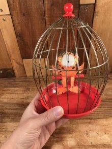 """他の写真3: Paws Garfield """"Cage"""" Roly Poly Toy ガーフィールド ビンテージ おきあがりこぼし 80年代"""