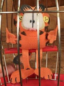 """他の写真2: Paws Garfield """"Cage"""" Roly Poly Toy ガーフィールド ビンテージ おきあがりこぼし 80年代"""