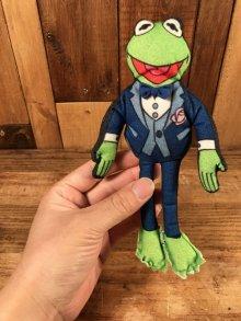 """他の写真1: The Muppet Show """"Kermit The Frog"""" Mini Cloth Doll カーミット ビンテージ ミニクロスドール マペッツ 90年代"""