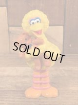 "Tyco Sesame Street ""Big Bird"" PVC Figure ビッグバード ビンテージ PVCフィギュア セサミストリート 90年代"