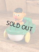 """Illco Sesame Street """"Ernie"""" Car Toy アーニー ビンテージ カートイ セサミストリート 90年代"""