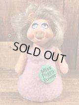 "Fisher-Price The Muppets ""Miss Piggy"" Beanbag Doll ミスピギー ビンテージ ビーンバッグドール マペッツ 70年代"
