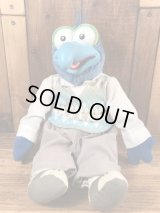 "Direct Connect The Muppets ""Gonzo"" Plush Doll ゴンゾ ビンテージ プラッシュドール マペッツ 80年代"