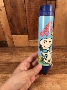 """他の写真3: Empire Peanuts """"Snoopy & Friends"""" Pencil Case スヌーピー ビンテージ ペンシルケース 80年代"""