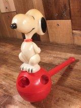 Peanuts Snoopy Plastic Pipe Toy スヌーピー ビンテージ プラスチックトイ 70年代