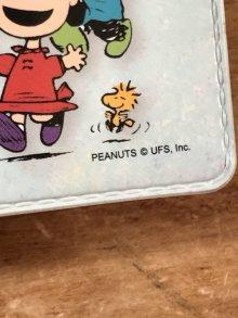 他の写真1: Peanuts Snoopy Mini Vinyl File スヌーピー ビンテージ ミニファイル ピーナッツギャング 90年代〜
