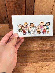 他の写真2: Peanuts Snoopy Mini Vinyl File スヌーピー ビンテージ ミニファイル ピーナッツギャング 90年代〜