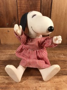 "他の写真1: Knickerbocker Peanuts Snoopy ""Belle"" Fun & Fashion Dress Up Doll スヌーピー ビンテージ ドール ベル 80年代"