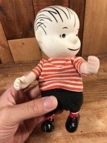 """他の写真1: Peanuts Snoopy """"Linus"""" Pocket Doll Figure ライナス ビンテージ ポケットドール スヌーピー 60年代"""