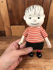 """他の写真2: Peanuts Snoopy """"Linus"""" Pocket Doll Figure ライナス ビンテージ ポケットドール スヌーピー 60年代"""