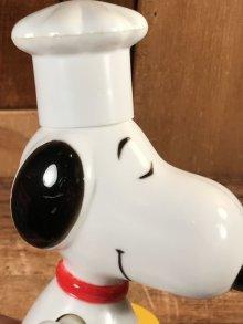 """他の写真1: Aviva Peanuts Snoopy """"World's Greatest Cook"""" Wind-Up Action Toy スヌーピー ビンテージ ワインドアップトイ 70年代"""