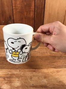 """他の写真3: Peanuts Snoopy """"Beagles Are..."""" Ceramic Mug スヌーピー ビンテージ マグカップ 陶器 70年代"""