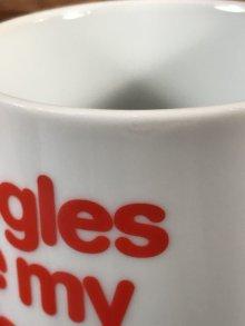 """他の写真2: Peanuts Snoopy """"Beagles Are..."""" Ceramic Mug スヌーピー ビンテージ マグカップ 陶器 70年代"""