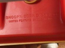 他の写真1: Peanuts Snoopy Soaper Clean Hands Inspector スヌーピー ビンテージ ハンドソープディスペンサー 70年代