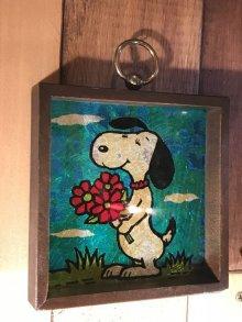 他の写真3: Counterpoint Peanuts Snoopy Aluminium Art Wood Wall Hanging スヌーピー ビンテージ 壁掛け 70年代