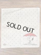 Hallmark Peanuts Snoopy Cotton Handkerchief スヌーピー ビンテージ ハンカチ 70〜80年代