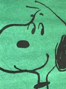 """他の写真1: Peanuts Snoopy Calendar """"1974"""" Felt Banner スヌーピー ビンテージ フェルトバナー 70年代"""