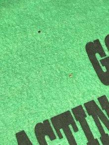 """他の写真2: Peanuts Snoopy """"I've Got To Start..."""" Felt Banner スヌーピー ビンテージ フェルトバナー 70年代"""