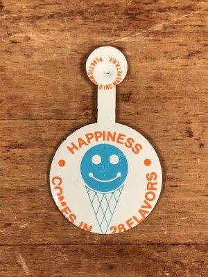 60年代頃〜のアイスクリームが描かれたビンテージのタブバッジ