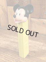"Disney ""Mickey Mouse"" No Feet Pez Dispenser ミッキーマウス ビンテージ ペッツ 足無し 70年代"