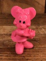 "Disney ""Minnie Mouse"" PVC Figure ミニーマウス ビンテージ PVCフィギュア 70年代"