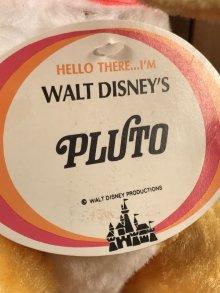 他の写真1: Walt Disney's Pluto Plush Doll プルート ビンテージ プラッシュドール ディズニー 60〜70年代