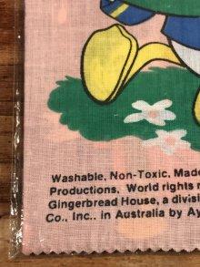 """他の写真1: Disney """"Donald Duck"""" Cloth Books ドナルドダック ビンテージ クロスブックス 絵本 70年代"""