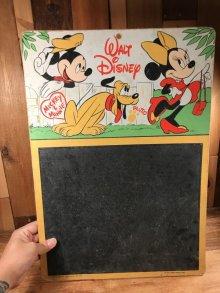 他の写真3: Disney Mickey & Minnie Mouse Chalkboard ミッキー&ミニーマウス ビンテージ チョークボード ディズニー 60〜70年代