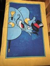 "Disney Aladdin ""Genie"" Pillow Case アラジン ビンテージ ピローケース ディズニー 90年代"