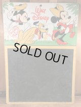 Disney Mickey & Minnie Mouse Chalkboard ミッキー&ミニーマウス ビンテージ チョークボード ディズニー 60〜70年代