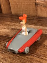 "Denny's Flintstones ""Wilma"" Meal Toy ウィルマ ビンテージ ミールトイ フリントストーン 90年代"