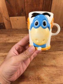 """他の写真2: Flintstones """"Dino"""" Plastic Mug ディノ ビンテージ マグカップ フリントストーン 60年代"""