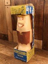 "Flintstones ""Barney"" Fun Bath Bottle バーニー ビンテージ バブルバスボトル フリントストーン 70年代"