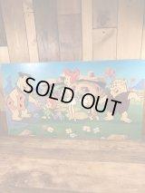 The Flintstones Wood Sign Board フリントストーン ビンテージ ウッドボード 看板 90年代
